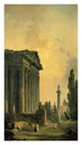 Temple Ruins Prints by Hubert Robert
