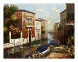 Sleepy Canal Prints by Peter Bell