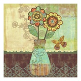 Bohemian Floral II Prints by Wendy Bentley