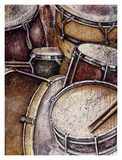 JB&#39;s Rhythm Section Art by Janet Blumenthal