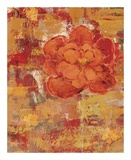 Marigolds IV Print by Lisa Ven Vertloh