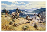 Loops and Swift Horses Are Surer Than Lead Prints by Charles Marion Russell