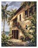 Tropical Villa II Posters par J. Martin