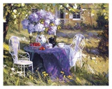 Lilac Tea Party Prints by  Benjamin