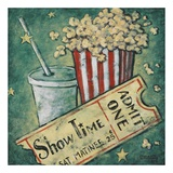 Show Time Print by Janet Kruskamp