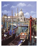 Chiesa Della Salute Poster by Guido Borelli