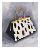 Cat Purse Print by Laura Linse