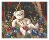 Christmas Bear Posters by Janet Kruskamp