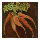 Carrots Prints by Suzanne Etienne