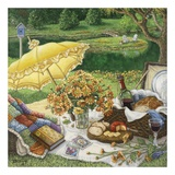 A Lazy Daisy Afternoon Print by Janet Kruskamp