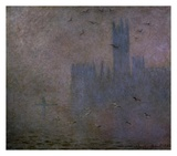 Houses of Parliament, Seagulls, 1904 Posters by Claude Monet