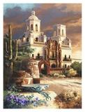 Mission Scene Plakaty autor Alma Lee