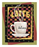 Latte Delicieux Print by Betty Whiteaker