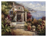 Monterosso Villa Prints by Alphonse 