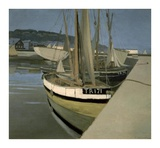 Sailboats in the Bay of Tregastel Posters by Felix Vallotton