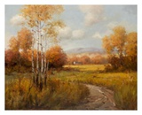 Countryside in the Fall Art by K. Park