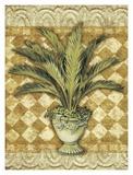 Elegant Palms I Posters by Kathleen Denis