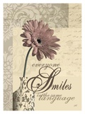 Everyone Smiles in the Same Language Poster von Maria Woods