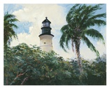 Key West Lighthouse Posters by Michael R. Miller