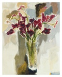 Red Calla Lilies Prints by  Yona