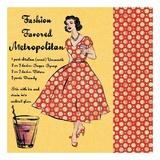Metropolitan Lady Poster by Lisa Ven Vertloh