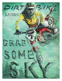Grab Some Sky Póster por Janet Kruskamp