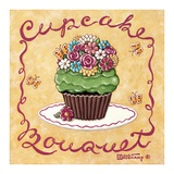 Cupcake Bouquet Prints by Janet Kruskamp