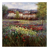 Tuscan Pleasures II Print by  Hulsey