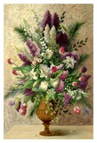 Spring Lilac Bouquet Posters by  Welby