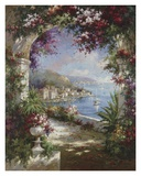 Floral Vista Print by Jerome 