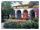 Capistrano Mission Delight Posters par Kent Wallis