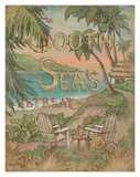 South Seas Retreat Posters by Janet Kruskamp