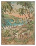 South Seas Retreat Posters by Janet Kruskamp
