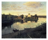 Evening Bells, 1892 Posters by Isaac Levitan