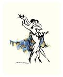 Tango Mondlicht Kunst von Misha Lenn