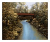 Covered Bridge Art by Diane Romanello