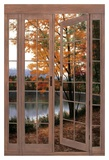 Autumn Threshold Poster by Diane Romanello