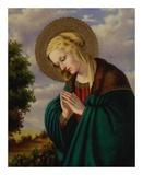 Madonna in Prayer Prints by Joe Ortiz