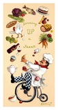 Serving Up A Feast Posters par Janet Kruskamp