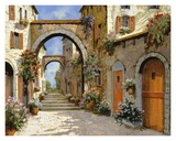 Le Porte Rosse Sulla Strada Prints by  Furtesen
