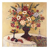 Summer Floral with Fruit Posters af Suzanne Etienne