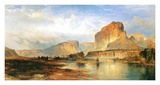 Cliffs of the Green River Prints by Thomas Moran