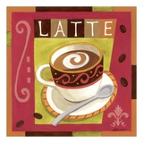 Italian Latte Print by Jennifer Brinley