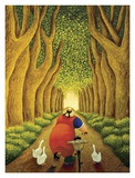 Home from the Market Posters by Lowell Herrero