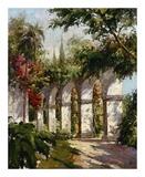 Garten der Missionsstation Kunst von Alberto Pasini
