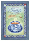 Englischer Tee Poster von Sue Williams