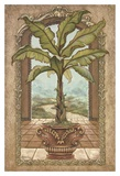 Classical Banana Tree Prints by Janet Kruskamp