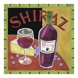 Vintage Wine II Print by Jennifer Brinley