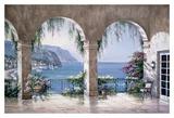 Mediterranean Arch Prints by Sung Kim