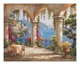 Terrace Arch II Prints by Sung Kim